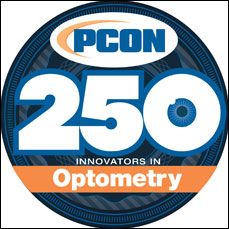 PCON top 250 Optometrists logo