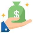 virtual consult savings icon